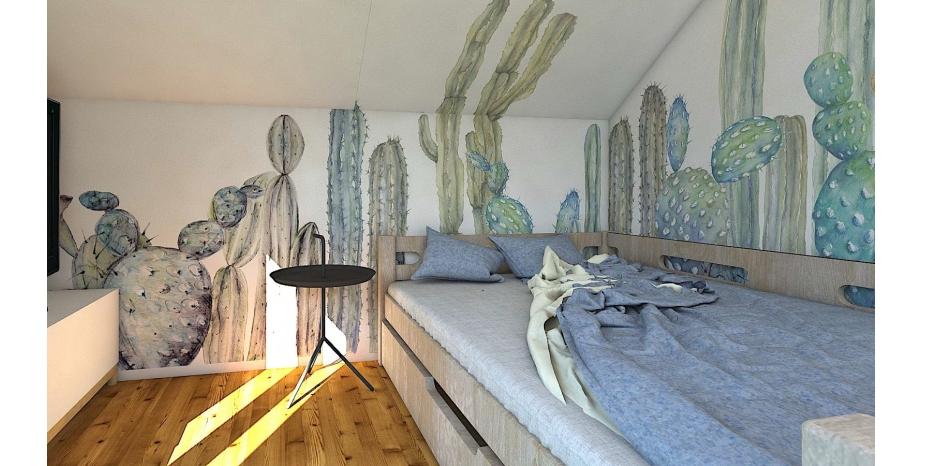 Kaktusáci aneb malované tapety zase v akci