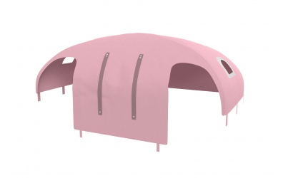 Domeček stan PASTEL pro zábranu A B - růžový