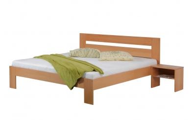Manželská postel METAXA 180 cm buk cink
